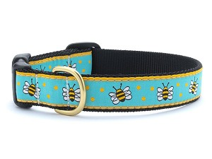 Up Country Mayfield Bee Dog Collar