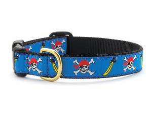 Up Country Skully Dog Collar