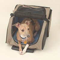 Wheel Around Travel Pet Carrier