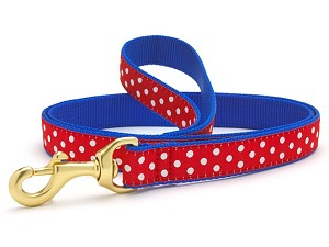 Up Country Swiss Dot Dog Lead