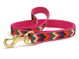 Up Country Zig Zag Wag Dog Lead 6'
