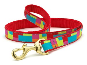 Up Country Color Block Dog Lead