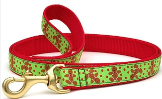 Up Country Gingerbread Man Holiday Dog Leash