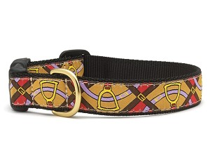 Up Country Horsin' Around Dog Collar