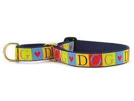 Up Country Dog Love Martingale Collar