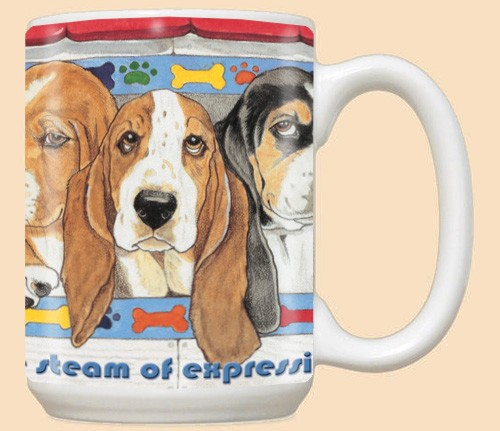 Basset Hound Dog Breed Mugs