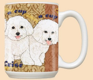 Bichon Frise Dog Breed Mugs