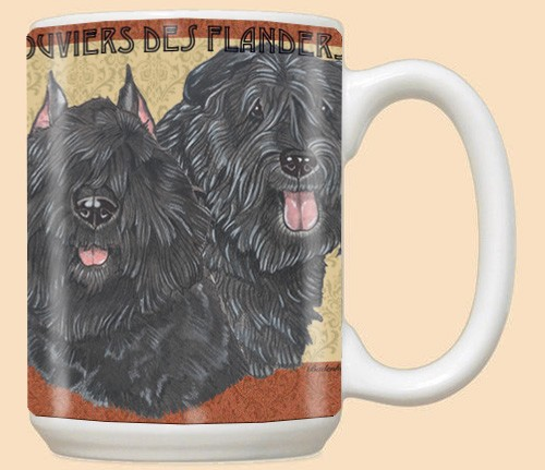 Bouvier des Flandres Dog Breed Mugs