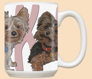 Yorkshire Terrier Breed Mugs