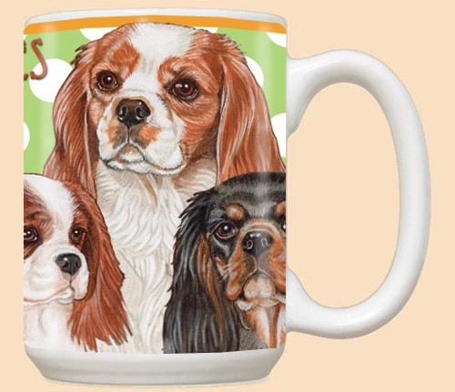 Cavalier King Charles Ceramic Mugs