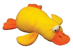 Pet Lou Duck Dog Toy 6""