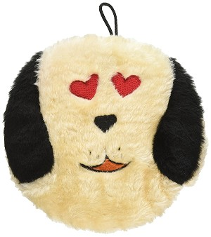 Petlou Dog Toy  D.og'z I Love You 7""