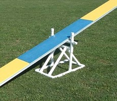 Dog Agility Practice Teeter Base
