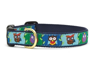 Up Country Owl Dog Collar